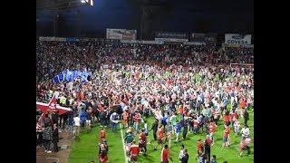 Ascenso del Girona FC a Primera División e invasión de campo en directo!!