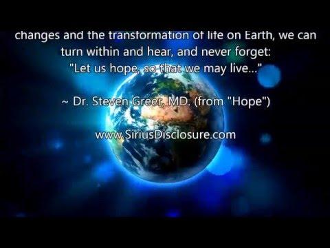 Dr.  Steven Greer -  Hope