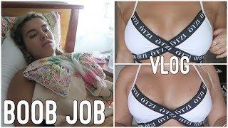 BOOB JOB VLOG!! ♡ Jasmine Hand
