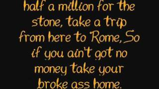 Fergie - Glamorous (Original - lyrics). [HQ]