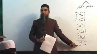 Arabic Course by Sheikh Aamir Sohail Lecture 6 (Urdu)