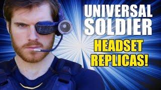 Universal Soldier Headset Replicas for JEAN-CLAUDE VAN DAMME!!!