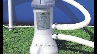 Intex 1000 gal/hr Filter Pump Model 637 Setup Instructions