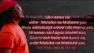Nyashinski - Malaika lyrics