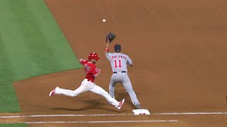WSH@LAA: Robinson ruled safe after challenge in 6th