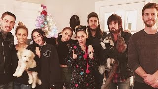 Liam Hemsworth Spends Christmas With Miley Cyrus - Miley Gets NEW Weed Tattoo