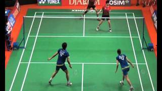 Yong Dae Lee Jung Eun Ha South Korea VS Tantowi Ahmad Liliyana Natsir Indonesia Babak Penyisihan Ganda Campuran