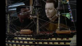 Geordi shares his hobby with Data