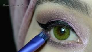 Mürdüm Tonlarında Göz Makyajı 💜 Elegance - Giallo  #İnstagram
