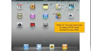 Configure your iPad with A.M.A.R Hosting Shared Web and Email POP3 Email Account