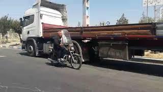Iran, Islamchahr, le 15 septembre gréve des camionneurs