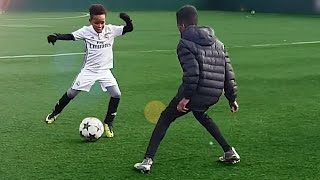 7 Year Old Kid Shows Ronaldo Skills - Tutorial for Kids
