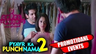 Pyaar Ka Punchnama 2 Movie (2015) Promotional Events | Kartik Aaryan, Nushrat Bharucha