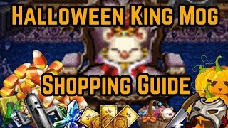 Final Fantasy Brave Exvius - Halloween Shopping Guide!