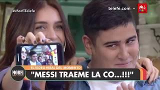 """Cantamos con Chapu Martínez """"Traeme la copa Messi"""" - Morfi"""