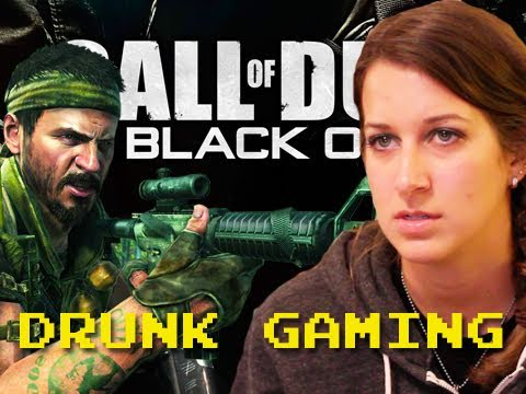Drunk Gaming Call Of Duty Black Ops