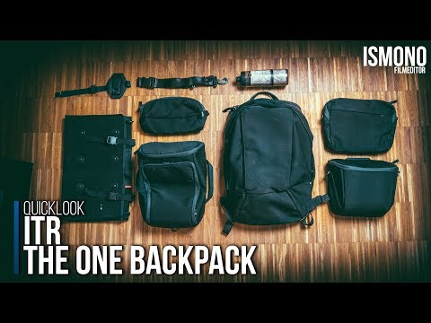 The only bag you ll ever need ITR One Backpack QUICKLOOK