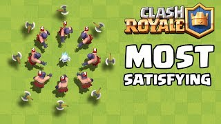 The Most Satisfying Video Ever in Clash Royale #3