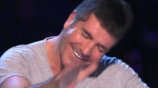 """3 Sick Singers"" Are Rude and Try To Teach Simon Lesson"