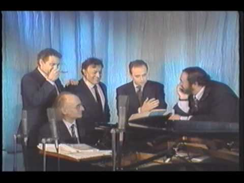 """The Three Tenors - Rare footage singing """"Marechiare"""""""