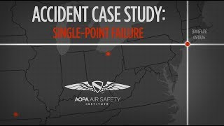 Accident Case Study: Single Point Failure