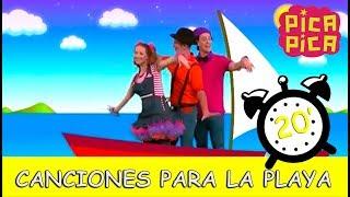 Pica-Pica - Las mejores canciones para la playa (20 minutos)