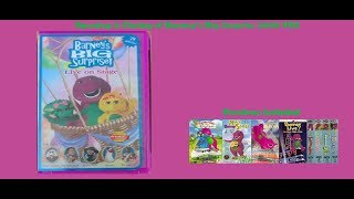 Barney's Big Surprise Opening & Closing (2000 VHS)