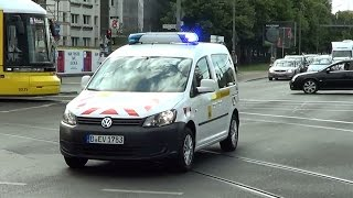 Berlin BVG Betriebsaufsicht PKW | Berlin public transit emergency car responding [GER | 9.6.2016]