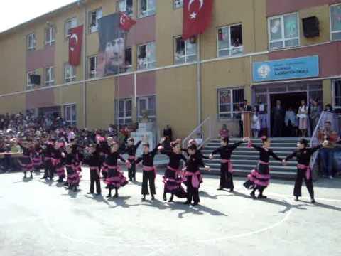 Paso Doble Alabina Yallah 2 B sınıfı 23 Nisan gösterisi