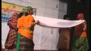 Chander hatt children theatre Dance Drama Nakshi Kather Mat Clip 9