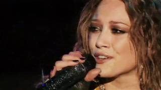 Hilary Duff - Someone´s Watching Over Me (Live) / Dignity Tour Official DVD [HD]