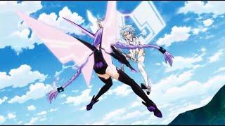 【Hyperdimension Neptunia: The Animation】Purple Heart vs. White Heart