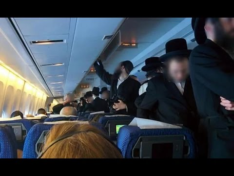 Orthodox Jews Refuse To Sit With Women On Plane