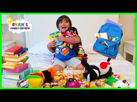 Xxx Mp4 WHAT S IN MY BACKPACK 2018 Back To School Challenge With Ryan S Family Review 3gp Sex