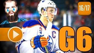Edmonton Oilers vs San Jose Sharks. 2017 NHL Playoffs. Round 1. Game 6. April 22nd, 2017. (HD)