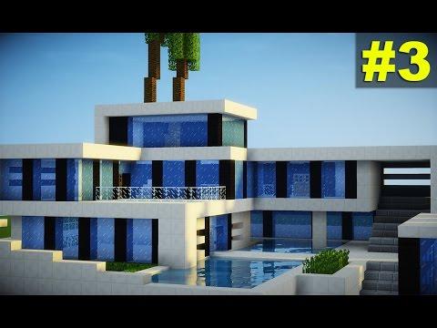 Minecraft tutorial casa super moderna parte 1 vidoemo for Casas modernas minecraft 0 14 0