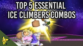 Top 5 Essential Ice Climber Combos - Super Smash Bros. Melee