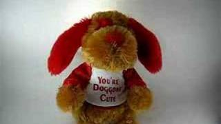 Valentine's Shout Dog