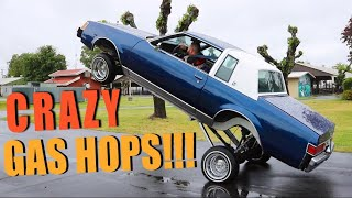 Lowriders Gas Hopping!!!