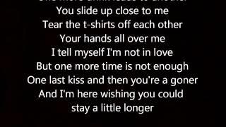 Stay A Little Longer- Brothers Osborne Lyrics