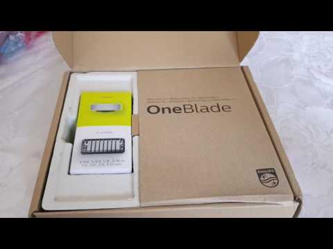Philips One Blade Unboxing + First Impressions
