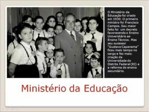 Educação no Estado novo