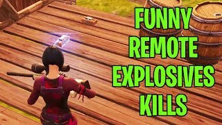 Remote Explosives New Update - Fortnite Funny Moments #35 (Fortnite Funny Fails and Epic Moments)