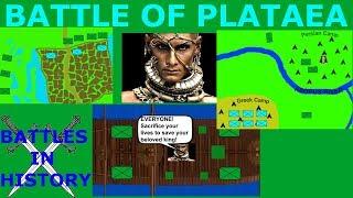 The Battle of Plataea (479 BCE)