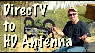Get FREE TV - Replace DirecTV with an Over-the-Air Antenna