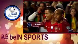 أهداف مباراة البرتغال × المجر 3 0 الأهداف كاملة   تصفيات كأس العالم 25 3 2017