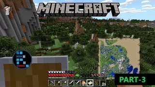 [Hindi] MINECRAFT GAMEPLAY | WORKING ON BASE AND COLLECTING SAND FOR MAKING GLASS BASE#3