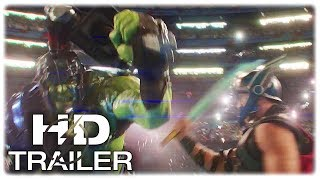 Thor Ragnarok Hulk vs Thor Trailer #4 NEW (2017) Chris Hemsworth Superhero Movie HD