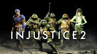 Injustice 2 - Fighter Pack 3 Introduces Teenage Mutant Ninja Turtles!