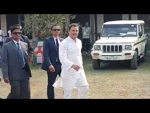 Xxx Mp4 Meghalaya Polls 2018 Rahul Gandhi Woos Voters In Garo Hills 3gp Sex